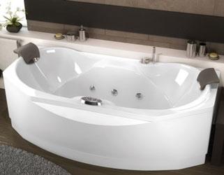 En vente 19090ergosant baignoire baln o kinedo ergonomique 190x90 sant - Marque baignoire balneo ...