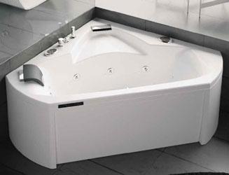 En Vente Pure Design140x140 Sante Baignoire D Angle Balneo Kinedo Pure Design 140x140 Cm Sante
