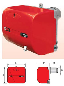 en vente 3743240 bruleur fioul riello 40 g3r. Black Bedroom Furniture Sets. Home Design Ideas