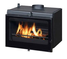 en vente co7933 pt06 insert cheminee chaudiere deville. Black Bedroom Furniture Sets. Home Design Ideas