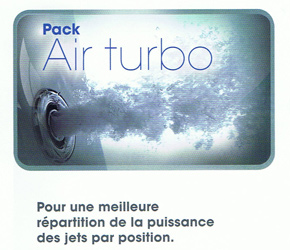 PACK AIR TURBO POUR SPAS KINEDO