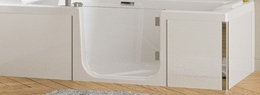 baignoire duo kinedo free image de smart duo paroi simple. Black Bedroom Furniture Sets. Home Design Ideas